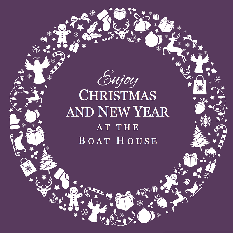 christmas party in neston at the boathouse